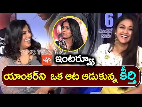 Keerthi Suresh and Varalakshmi Interview | #Sarkar | Telugu Latest Interview | YOYO TV Channel