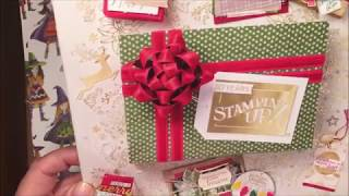 Stampin' UP! Unboxing Holiday Catalog 2018