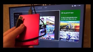 How to Increase Xbox One Storage using External Hard Drive