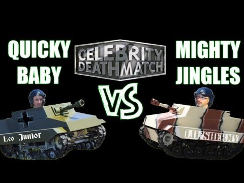 World of Tanks || QuickyBaby vs Jingles *Celebrity Deathmatch*