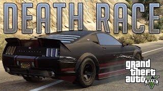 Death Race Mustang (Vapid Dominator) : GTA V Custom Car Build