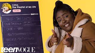 Chika Creates the Playlist of Her Life | Teen Vogue