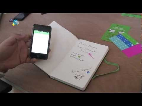 [Hands On] Moleskine Evernote Smart Notebook