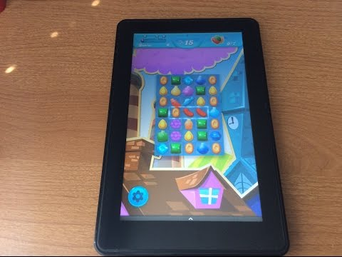 Install Candy Crush Soda Saga to Kindle Fire. HD. & HDX