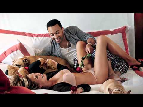 John Legend & Chrissy Teigen's Steamy GQ Photo Shoot - HipHollywood.com