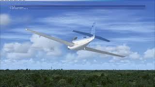 I RAN OUT OF FUEL! Microsoft Flight Simulator X Steam Edition
