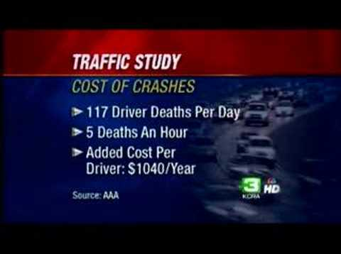 Study: All Drivers Foot Bill For Congestion
