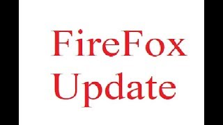 How to manually update a Firefox