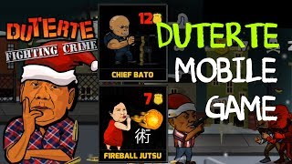President Duterte Crime Game sa Cellphone
