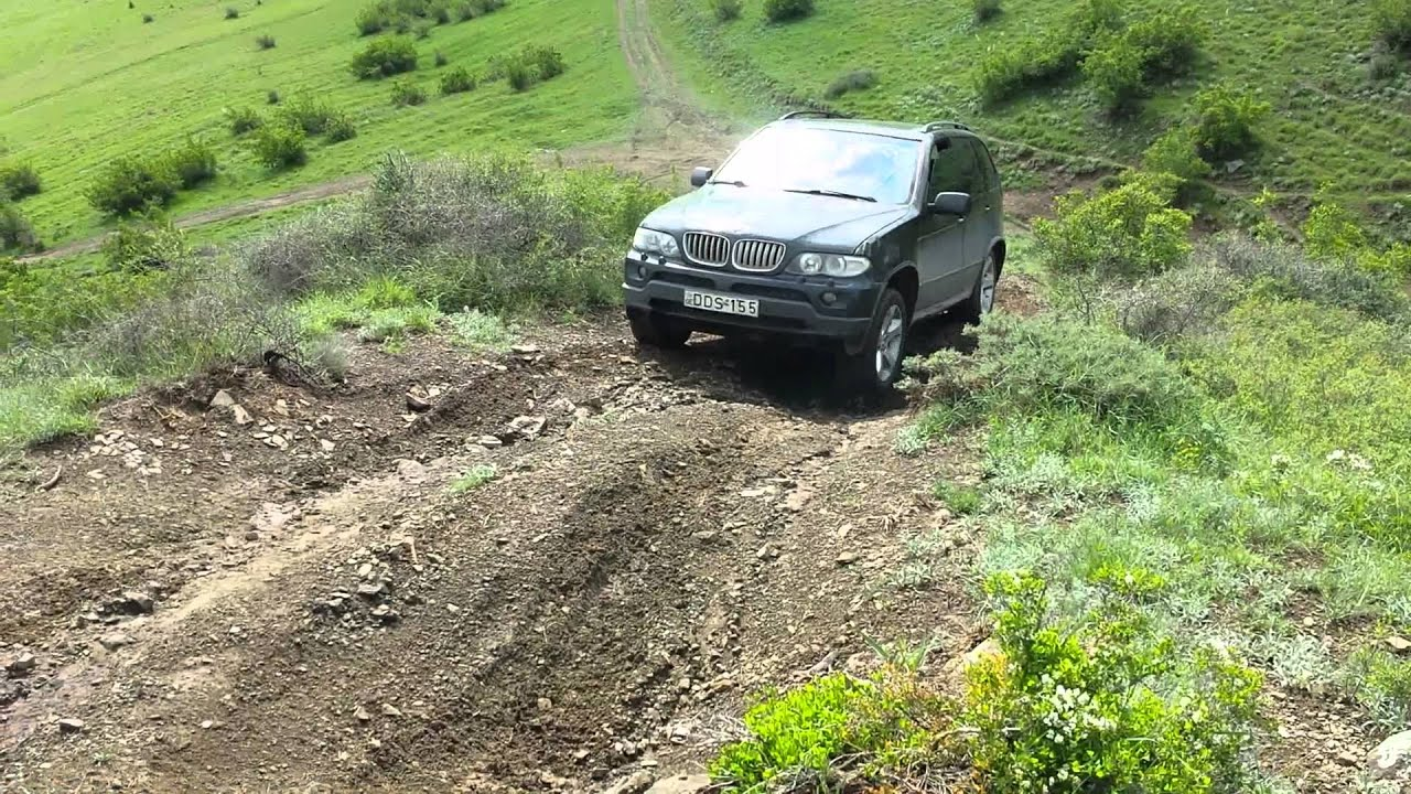 Bmw X5 Off Road Youtube