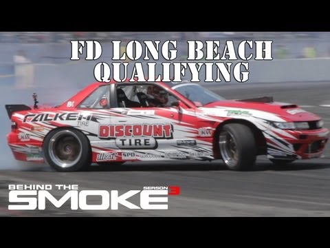 Long Beach Qualifying Formula Drift 2013 - BTS3 2013 Daijiro Yoshihara