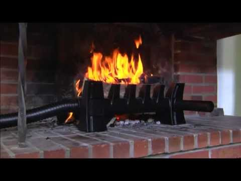 R cup rateur de chaleur pour chemin e ouverte youtube for Recuperateur chaleur cheminee foyer ferme