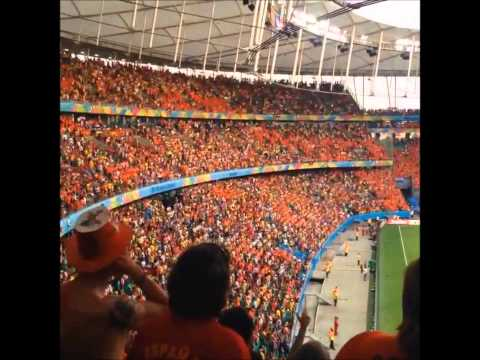 spain vs netherlands {1-5} Fans View | Fonte Nova Stadium, Salvador, Brazil 2014 FIFA Worl Cup