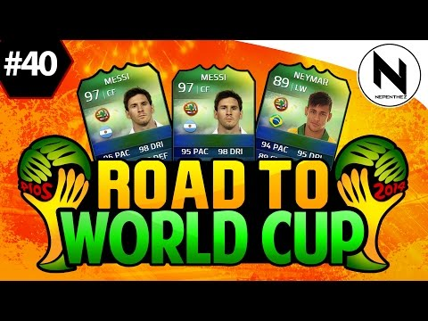 WORLD CUP PACKS!! FIFA 14 Ultimate Team - Road to World Cup 40