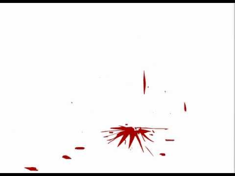 Blood Spray Anime Flash Animation Blood Splatter