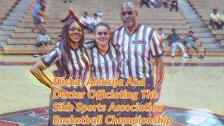 TMOBA Presents:  The Sikh Sports Association Adult Basketball Championship Game  1st Half