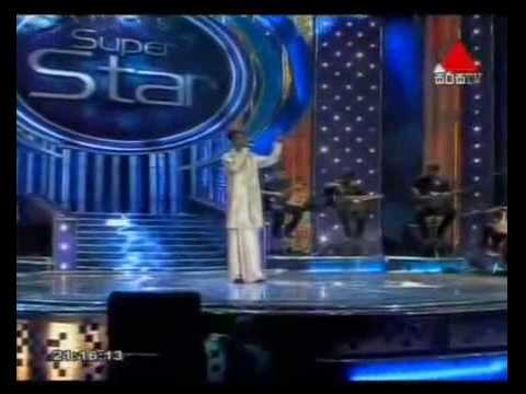 Dumal Warnakulasooriya Sings Niwahal Sithuwili- Sirasa Super Star Season 03    Final 09   2010 02 06 video