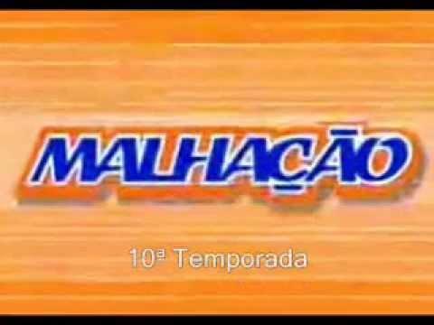 Logotipos das todas temporadas Malhação  (Evolução)