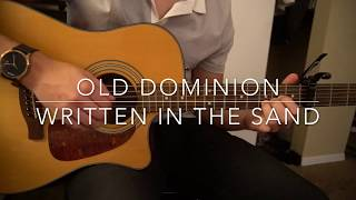 "Download Lagu How to play ""Written in the Sand"" by Old Dominion Gratis STAFABAND"