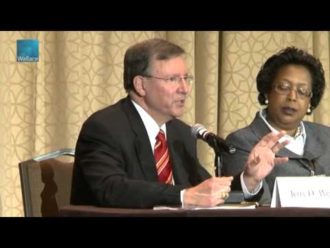 Plenary Panel: State and District Leaders Discuss School Leadership Part 1