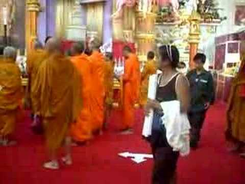 Monks at Sukhawadee, Pattaya; Thailand