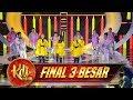 Penampilan Ciaamik MusBrother feat Trio Macan [IWAK PEYEK]  - Final 3 Besar KDI (25/9)