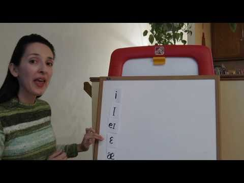 Pronunciation of English Vowel Sounds 2 - Front Vowels, Part 2
