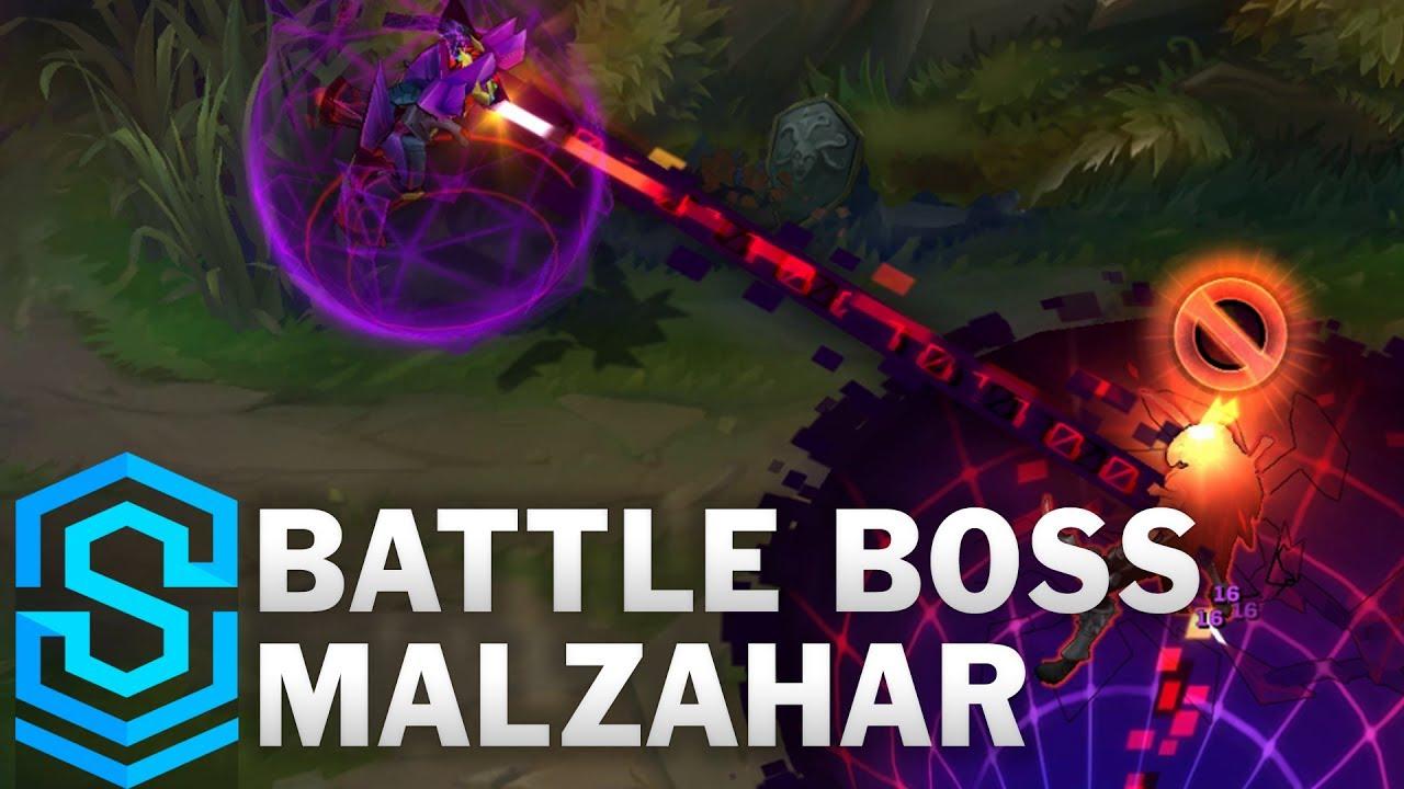 Battle Boss Malzahar Skin Spotlight - Pre-Release - League of Legends