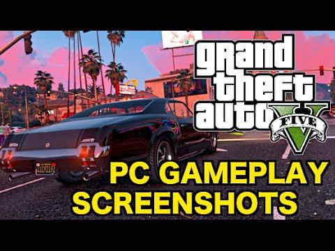 GTA 5 on PC: Gameplay in 4K Resolution! (GTA V PC 4K Screenshots)