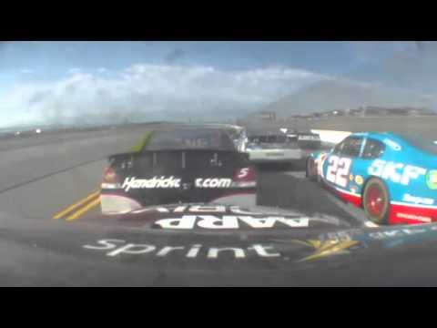 Jeff Gordon  onboard 2012 Talladega GWC finish