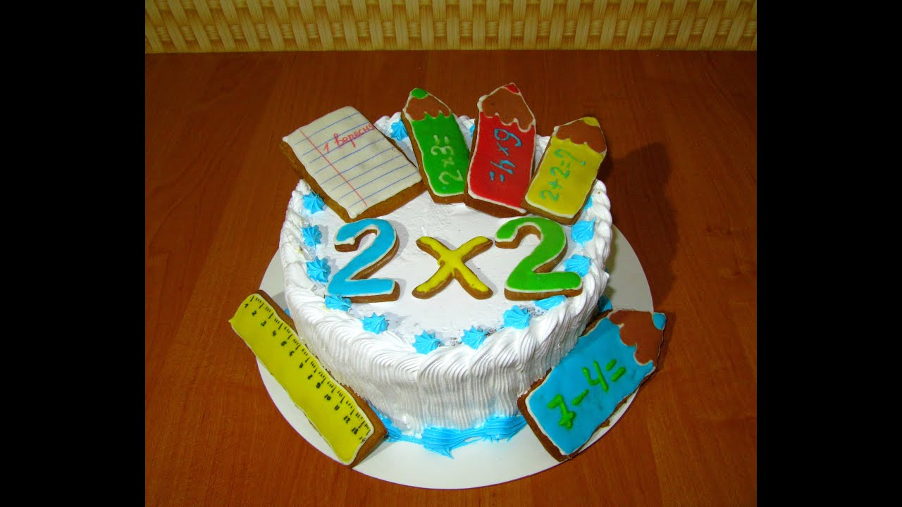 Торт на 1 сентября своими руками 213