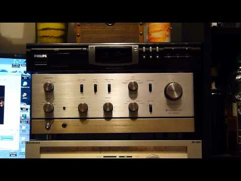 Vintage Kenwood KA-4004 amplifier in action, part I