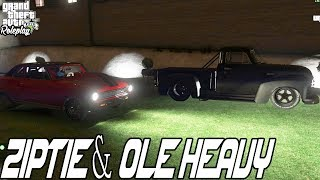 ZIPTIE & OLE HEAVY | MICKY'S NEW HOUSE AND RACE CARS | FIVEM | WILD SIDE RP