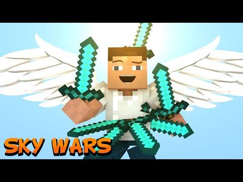 ЧИТЕРЫ НАПЛОДИЛИСЬ! - Minecraft Скай Варс (Mini-Game)