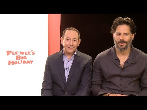 Paul Reubens and Joe Manganiello Talk Pee-wee's Big Holiday