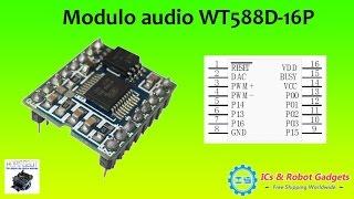 ICStation.com - WT588D 16P Voice Sound Module
