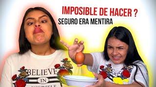 8 cosas IMPOSIBLES de hacer por un ser humano!   Cata Fernández