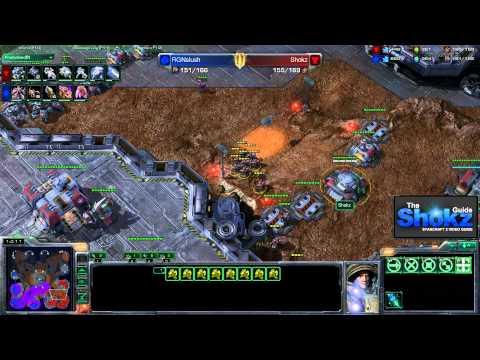StarCraft 2 Interactive Guide - RGNSlush (Z) vs Shokz (T)