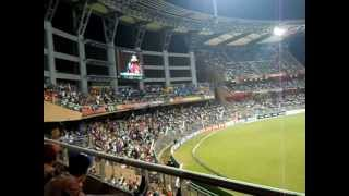 Mexican Wave at Wankhede stadium Mumbai