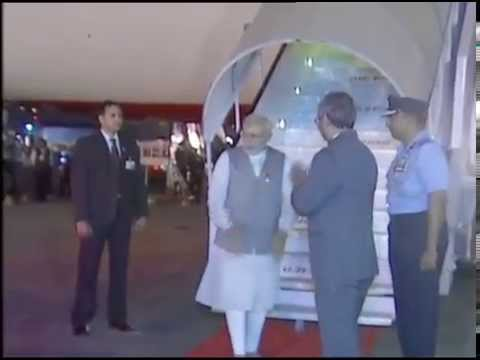 PM Modi arrives in New Delhi after #3NationTour