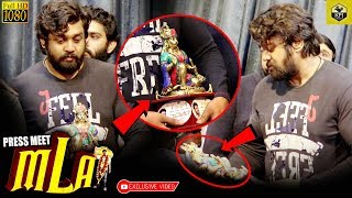 Dhruva Sarja Received Wonderful Hanuman Statue From MLA Movie Team | Pogaru | Action Prince Dhruva