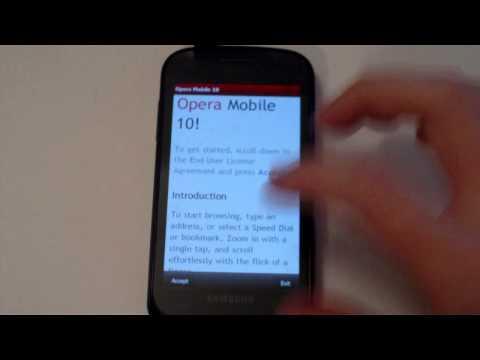 DFT Sammy Full Unlocked Rainbow ROM on Samsung Focus/Omnia 7