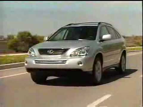 Lexus RX400h Hybrid, Car Review.