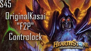 [Hearthstone] OriginalKasai F2P Controlock I Deck Showcase