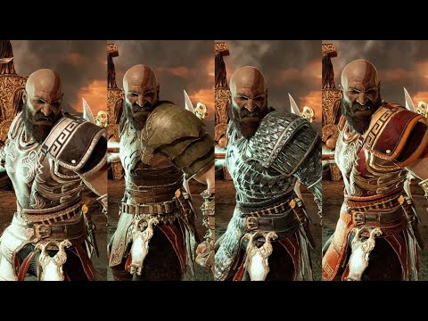 God of War - Biggest Combo Compilation With All Runic Skills! The Real Kratos thumbnail