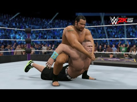 Wwe 2k15 Wrestlemania 31 - Rusev Vs John Cena - United States Title Match! video