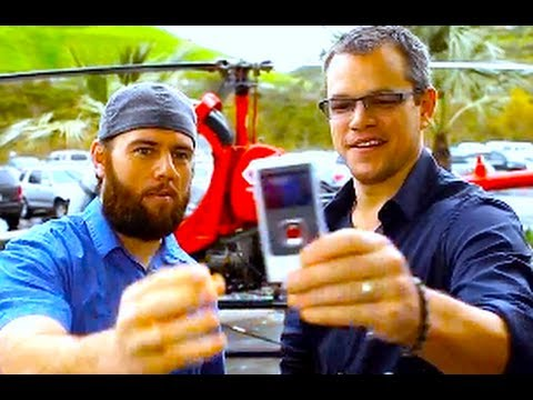 MATT DAMON'S VERY 1st VLOG!