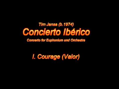 Tim Jansa: Concierto Iberico (for Orchestra) - I. Courage