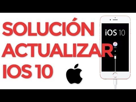 Problemas iOS 10 iPhone y iPad bloqueado al actualizar solución en iTunes en modo recuperación
