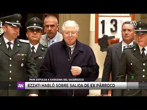 Papa Francisco expulsa a Fernando Karadima